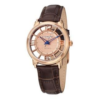 Stuhrling Original Women's Lady Winchester Quartz Swiss Quartz Strap Strap Watch