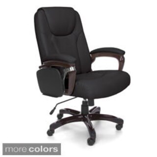 OFM Oro300 Executive Office Chair (Option: Off White)