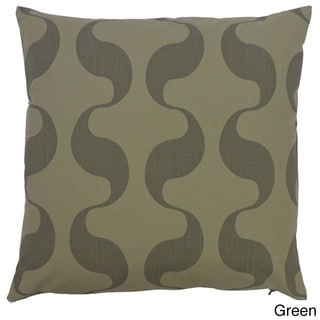 Onda Abstract Throw Pillow