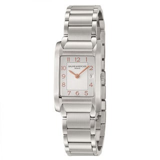 Baume and Mercier Women's 'Hampton' Stainless Steel Swiss-quartz Bracelet Watch