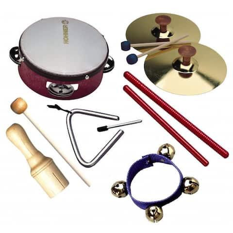 Hohner Kids 6-piece Rhythm Set