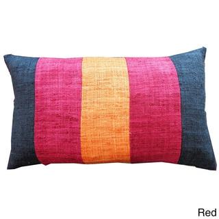 12 x 20-inch Mat Zebra Throw Pillow