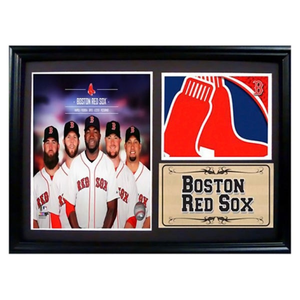 Photo Stat Frame 12 x 18 Boston Red Sox