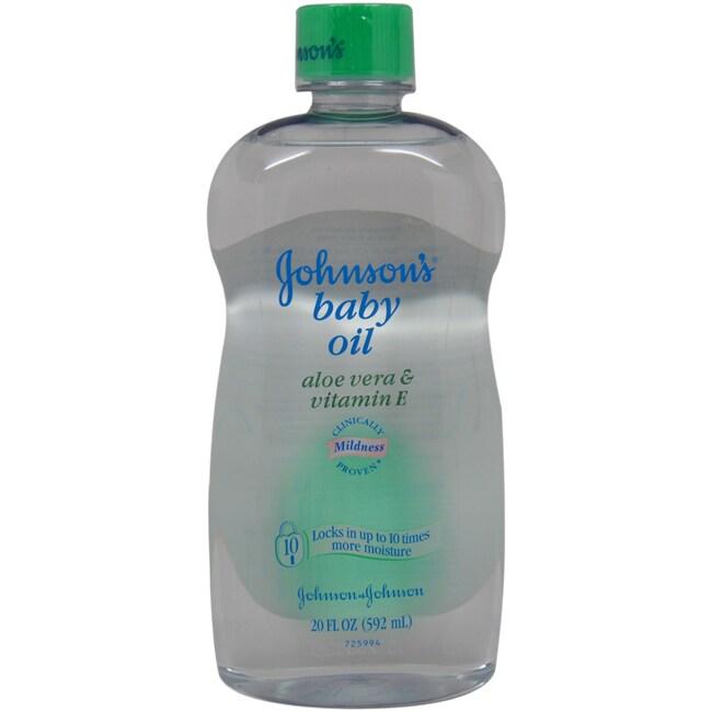 John James Audubon Johnson & Johnson's 20-ounce Baby Oil (1)