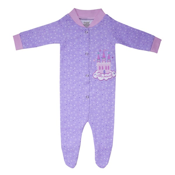 Funkoos 'Little Princess' Girls Organic Cotton Sleepsuit