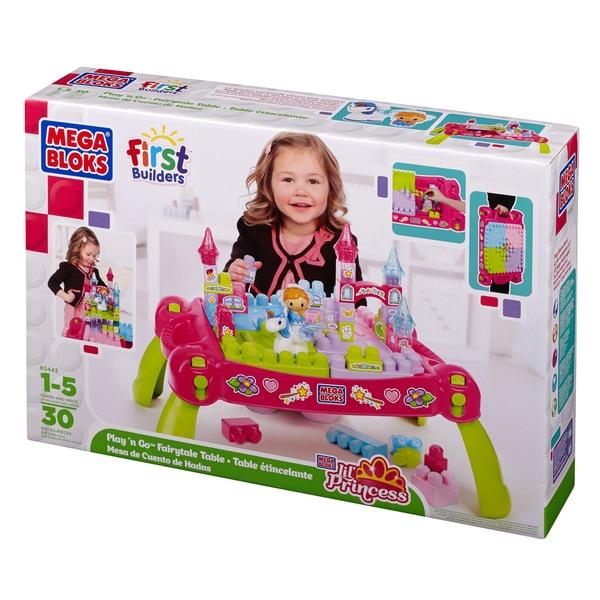 Mega Bloks Lil' Princess Play 'N Go Fairytale Table