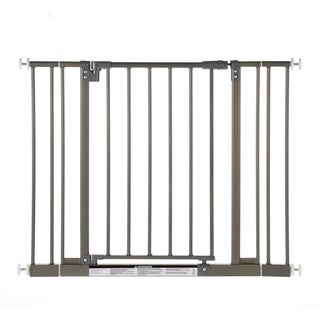 North States Easy-Close Burnished Steel Metal Gate