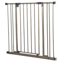 North States Extra Tall Easy-close Bronze Metal Gate