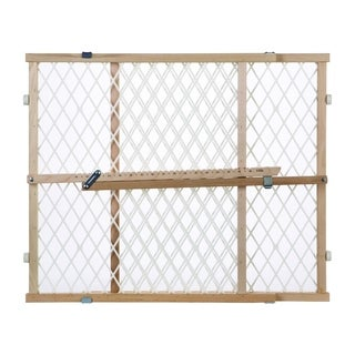 North States Diamond Mesh 23-inch Tall Wood Gate