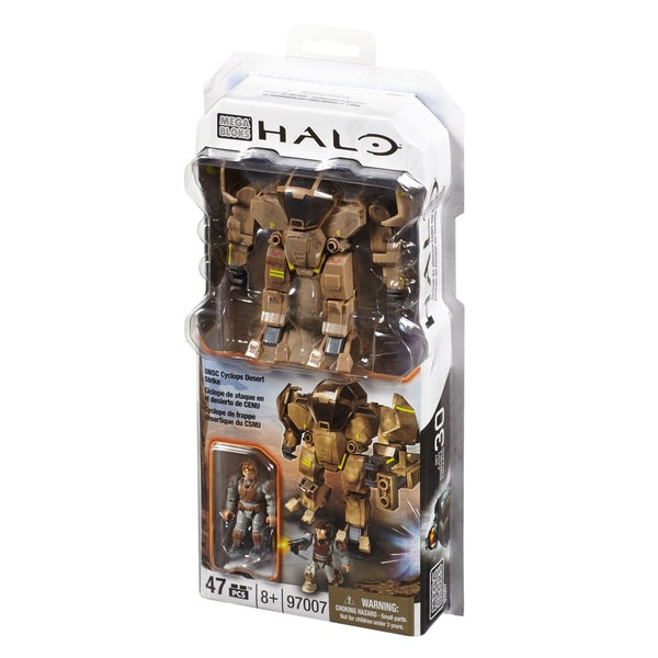 Mega Bloks Halo Cyclops Desert Strike