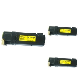Refilled Insten 106R01596 Yellow Non-OEM Toner Cartridge Replacement for Xerox Phaser 6500 WC6505