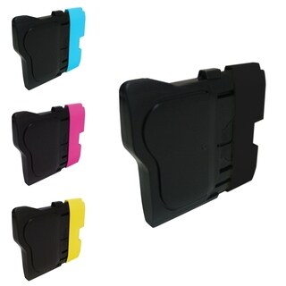 INSTEN Magenta/ Yellow/ Cyan/ Black 4-Ink Cartridge for Brother LC-61