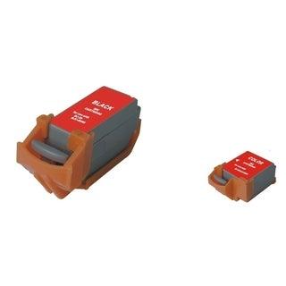 INSTEN Color/ Black 2-Ink Cartridge Set for Canon BCI-11C