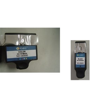 Refilled Insten Color Non-OEM Ink Cartridge Replacement for Dell
