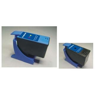 INSTEN Dell A922/ A924 Color/ Black 2-Ink Cartridge Set (Remanufactured)