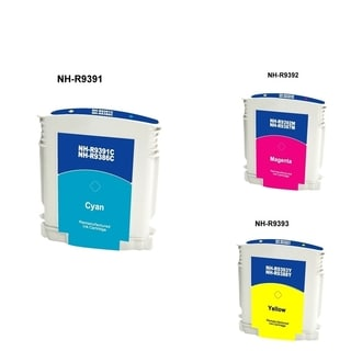 INSTEN HP 88 Cyan/ Magenta/ Yellow 3-Ink Cartridge Set (Remanufactured)