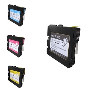 INSTEN 4-Ink Cartridge Set for Ricoh GC31/ GC31H