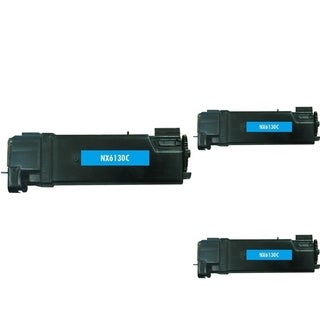 Refilled Insten 106R01278 106R1278 Cyan Non-OEM Toner Cartridge Replacement for Xerox Phaser 6130