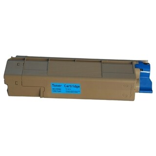 Insten Cyan Non-OEM Toner Cartridge Replacement for Okidata