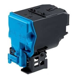 Refilled Insten Cyan Non-OEM Toner Cartridge Replacement for Konica-Minolta A0X5450/ A0X5451