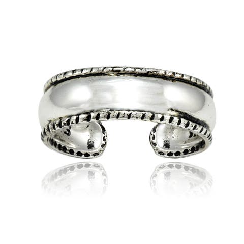 Mondevio Bead Design Toe Ring