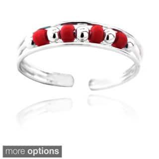 Mondevio Bead Toe Ring|https://ak1.ostkcdn.com/images/products/8459648/Mondevio-Bead-Toe-Ring-P15751982.jpg?impolicy=medium