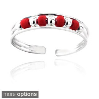 Mondevio Bead Toe Ring
