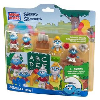 Mega Bloks Smurfs Schoolin' Smurfs Playset
