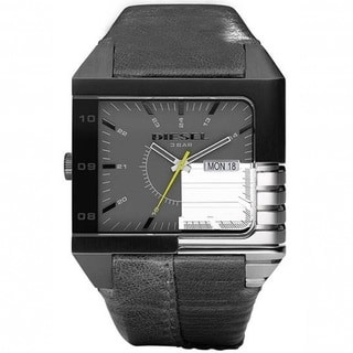 Diesel Men's Analog Grey Mirror Dial Watch
