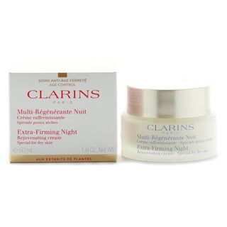 Clarins Extra Firming Night Rejuvenating 1.6-ounce Cream Dry Skin