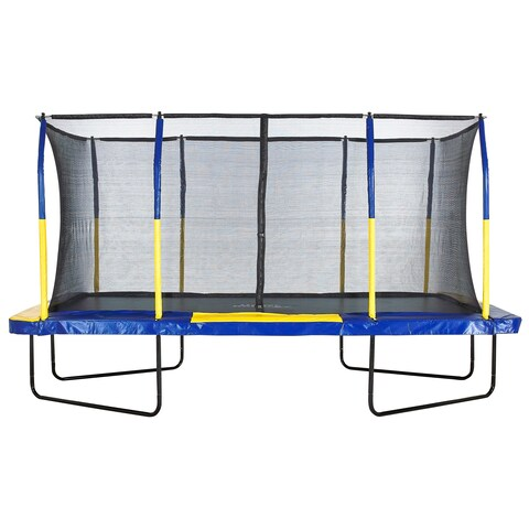Upper Bounce Easy Assemble 9-feet x 15-feet Rectangular Trampoline with Enclosure