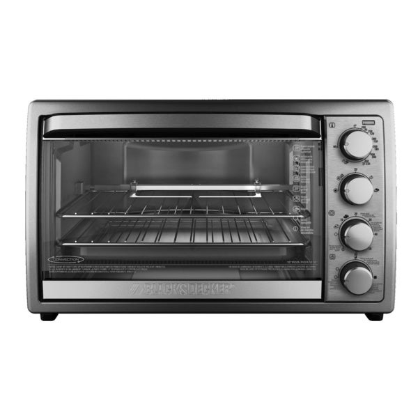 Black and Decker 9-slice Rotisserie Convection Oven -  Applica, TO4314SSD