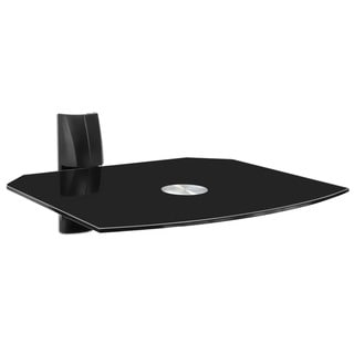 Mount-It! Single Wall Mount Shelf for DVD VCR Cable Box, PS3, XBOX, Stereo Blu-Ray Components