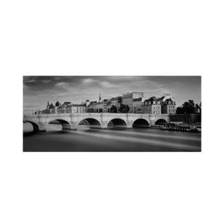 Moises Levy 'Paris River' Canvas Art