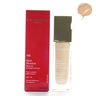 Clarins Skin Illusion Natural Radiance 109 Wheat Foundation