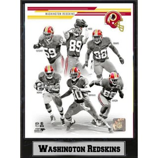 2013 Washington Redskins 9 x 12 Plaque