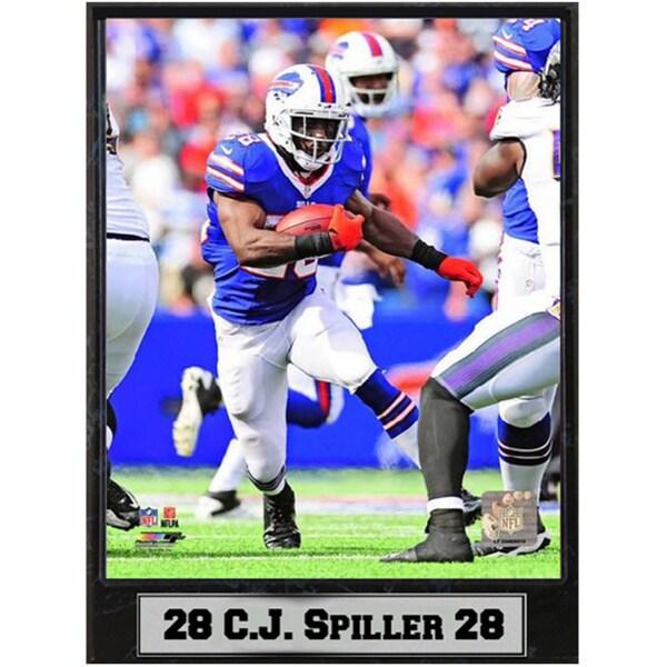 C.J. Spiller Buffalo Bills 9x12 Plaque