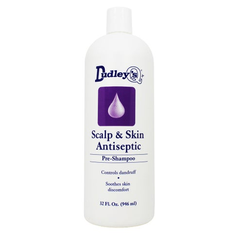 Dudley's Scalp & Skin Antiseptic 32-ounce Shampoo