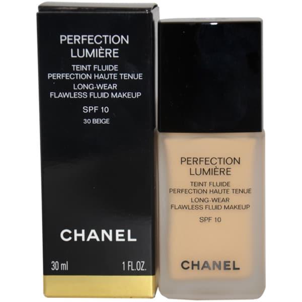 Chanel Perfection Lumiere 30 Beige Long-Wear Flawless Fluid Makeup