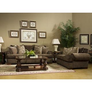 cherry living room furniture. fairmont designs made to order regency 2-piece sofa set cherry living room furniture i