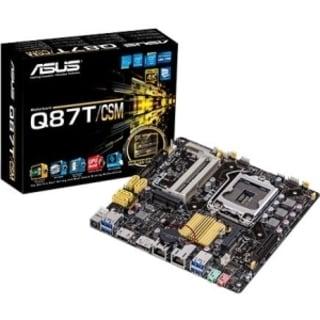 Asus Q87T/CSM Desktop Motherboard - Intel Q87 Express Chipset - Socke