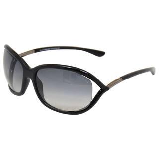 cf03f270f7a1 Tom Ford Women s Jennifer TF8 01B  Black Grey Sunglasses