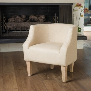 Christopher Knight Home Baley Dark Beige Fabric Club Chair