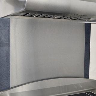 KOBE Back Splash Panel Stainless Steel 30-inch x 32-inch