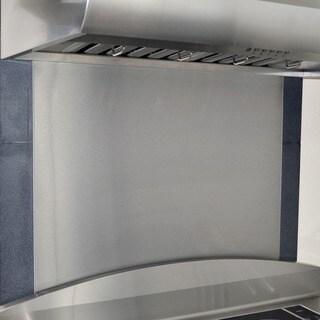 KOBE 36 x 32-inch Stainless Steel Backsplash Panel