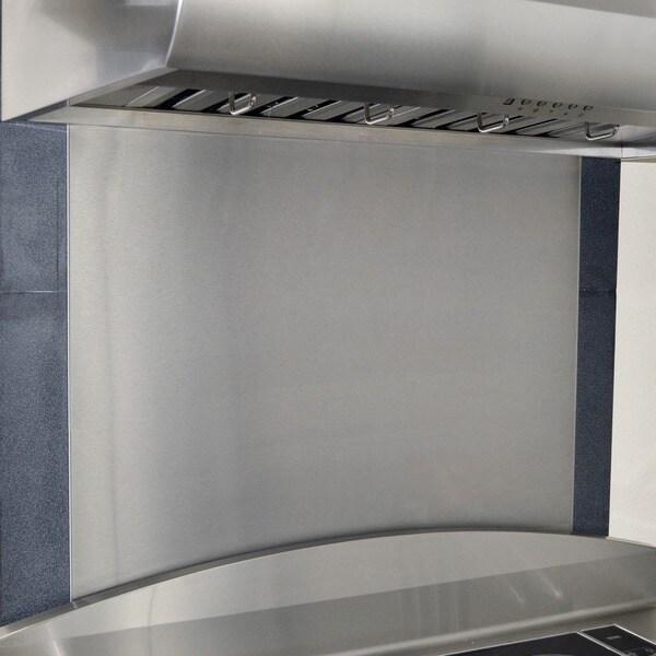 Kobe 36 X 32 Inch Stainless Steel Backsplash Panel