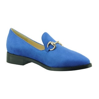 DimeCity Women's 'Chester' Low Heels Loafers