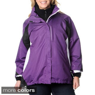 Excelled Women's Plus 3-in-1 Jacket