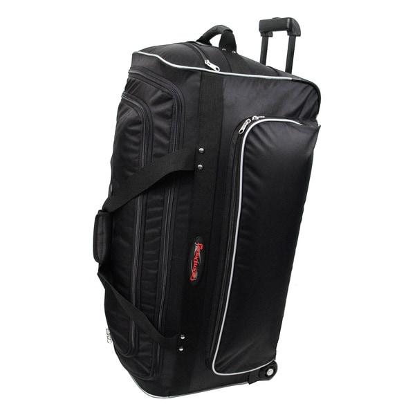 Shop Caddydaddy X 34 34 Inch Rolling Duffel Bag Free