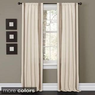 Lush Decor 'Charming Sand' 84-inch Curtain Panel Pair